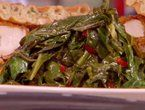 Quick Southern Collards with Paula Deen y'all