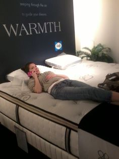 SEE IT, SNAP IT, POST IT Facebook contest entry: New mattress -- looks comfy!