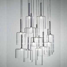 I think this is stunning, but it's also $3,000!  Even the smaller versions are pricey. -------------- Spillray 12 Light Chandelier by AXO Light   YLighting