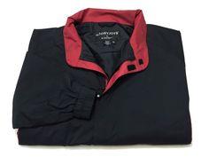 DryJoys By FootJoy XL Jacket Men's Long Sleeve Black Polyester Full Zip #FootJoy #BasicJacket