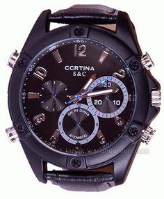 Keterangan atas Produk : Jam Tangan dengan Kamera Tersembunyi HD1080 Night Vision dengan Nomor SKU : A.0009-Z7KuLe ini adalah produk Jam tangan yang modis dengan tampilan macho fashionabel akan tet...