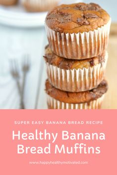 These really are the best healthy banana bread muffins ever! They've got such a light and fluffy texture and are paleo, clean eating, dairy-free and gluten-free. The perfect healthy snack. via We are want to say thanks if you like to share this […] Dessert Recipes For Kids, Fruit Recipes, Gourmet Recipes, Snack Recipes, Breakfast Recipes, Vegetarian Recipes, Healthy Recipes, Free Breakfast, Muffin Recipes