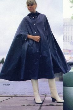 Pink Raincoat, Hooded Raincoat, Rain Cape, Rubber Raincoats, Rain Gear, Wellington Boot, Cape Coat, High Heel Boots, Rain Boots