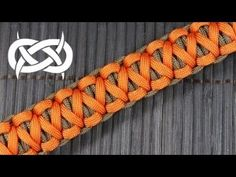 The Underwood Paracord Bracelet (Paracord Need an item from this video? Check out Paracord Store: *a design by House of Cords (FB: House of C. Paracord Braids, Paracord Knots, Paracord Keychain, Paracord Bracelets, Survival Bracelets, Bff Bracelets, Paracord Tutorial, Bracelet Tutorial, Parachute Cord
