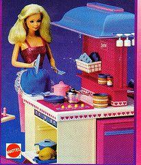 Barbie Dream Kitchen.  I think it was vanilla scented.