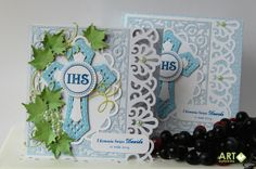 First Communion card with matching box - Scrapbook.com