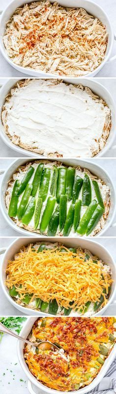 Jalapeño popper chicken casserole – So quick and easy. Everyone will love this delicious chicken casserole recipe! Jalapeno Chicken Casserole Recipe, Jalapeno Popper Chicken, Jalapeno Poppers, Pepper Chicken, Garlic Chicken, Pollo Loco Chicken Recipe, Chicken Zucchini Casserole, Mexican Food Recipes, Quick Food Recipes