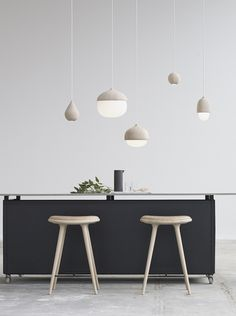 Liuku base and pendants is  designed for danish Mater design. Liuku it is crafted in solid, FSC certified  oak  wood  and  stripped  of  excessive  decoration, leaving  focus  on  the  simple  design.  The  LED  light  source is hidden in the...