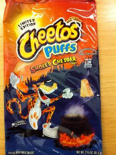 Cheetos Puffs Smoked Cheddar