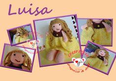 Amigu' Pupazzi, Doll & Co.: Luisa, boccoli e sorrisi