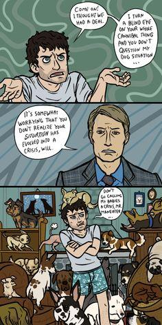 Hannibal: Intervention, sort of by sparkyHERO.deviantart.com on @deviantART