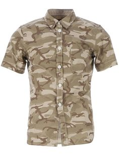 COMME DES GARÇONS HOMME PLUS - camouflage print shirt 5 bought at Anthem