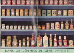 Produits Heinz, page centrale d'un petit livre de recettes. Sauriez-vous dire en quelle année? Dire, Greedy People, Products, Recipes