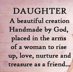 loving words to my daughter | Love my daughter | Words