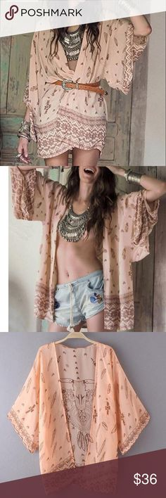 xoxo sexy Kimono Lovely kimono perfect with any outfit runs small go one size up  Other