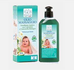 Prodotti White Castle - Olio per il massaggio e l'igiene quotidiana a base di di puri olii vegetali con calendula e camomilla biologici - www.whitecastle.it