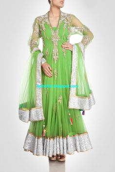 Dulhan Bridal Wedding Frock Designs 2014 by Pam Mehta