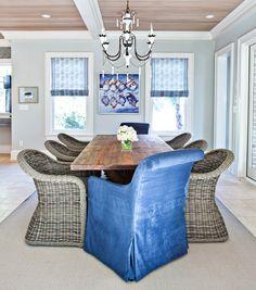 coastal dining room by Jenny Keenan Design