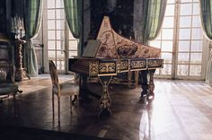 Old classic piano