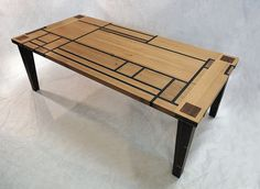 Mondrian Table-inlay-perfect45degree-jacquelyn-smith | Flickr - Photo Sharing!