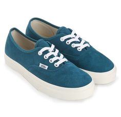 Most Iconic sneakers! Authentic Vintage Suede by Vans. Skate shoes with upper suede, with blue colar color, round toe, laces up, rubber sole. Cool shoes that will fit your outfit perfectly, this shoes is perfect for skate or street style. http://www.zocko.com/z/JIJBz
