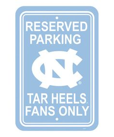 Take a look at this North Carolina Parking Sign