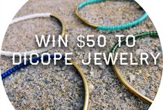 $50 Dicope Jewelry Gift Card Giveaway