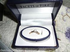 NEW IN BOX 1/4CT DIAMOND ENGAGEMENT RING-5 PRONG SETTING YELLOW GOLD-FREE SHIPPING!PHOTON!SALE!