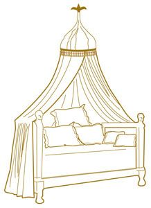 Napoleonic Canopy Arm Wall Mount In 2019 Bedroom Canopy