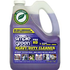Simple Green® Pro HD Heavy-Duty Cleaner and Degreaser - Professional-grade multi-purpose cleaning for residential, business and commercial sites! #SimpleGreen