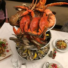 Seafood Tower at Lüke, New Orleans