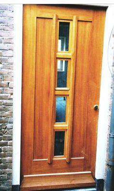 Foto: Mooie jaren 30 voordeur. Geplaatst door superbeeb op Welke.nl