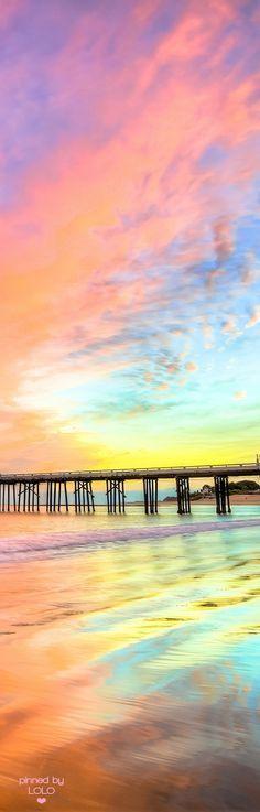 gorgeous sunset at Malibu, CA..by 45SURF Hero's Odyssey