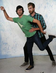 I love Rhett and Link! I couldn't live without watching them every morning. :-)