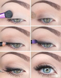 Easy eye makeup barefootstyling.com