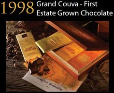 1998 Frist Vintage Single Origin Chocolate: Estate Grown Dark Chocolate Grand…