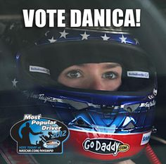 Click the pin and Vote Danica!