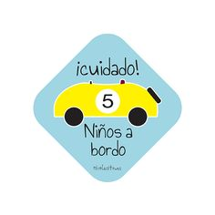 Pegatina Niños a bordo ideales para el coche. Podrás elegir el color y el número de niños. También para pegar por dentro o para lunas tintadas. Ideas, Footprint, Stickers, Key Chains, Crystals