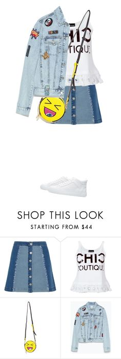 """""""Happy Saturday: High Tops"""" by junglover ❤ liked on Polyvore featuring House of Holland, Boutique Moschino and Zara"""