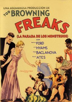 Freaks by Tod Browning.