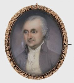 James Peale ~ A Gentleman, ~ Harvard Art Museums ~ Fogg Museum Harvard Art Museum, Miniature Portraits, 18th Century Fashion, Old Paintings, Philadelphia Pa, American Revolution, Antique Art, Gentleman, Pattern Design