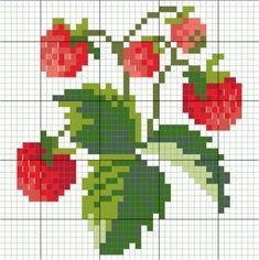 Схемы вышивок для миниатюр. Цветы | Самоделки