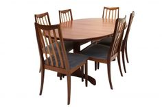 Vintage G Plan Dining Table and Chairs