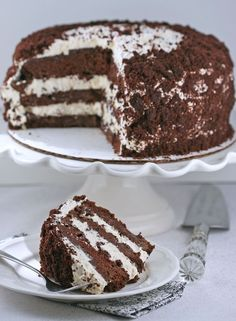 ♥ The Bakery: Devil's Food White out Cake (Dorie Greenspan)