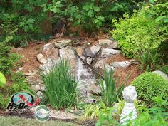 Disapearing Landscape Waterfalls Design and installation in Lexington Kentucky KY