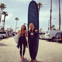 girls with the big boards