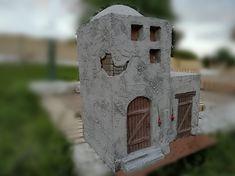 Belen artesanal: Catálogo de construcciones Tiny House, Bird, Interior, Outdoor Decor, Home Decor, Christmas Villages, Births, Projects, Decoration Home
