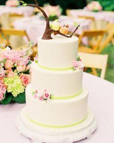 Budding Sugar Blossoms | Martha Stewart Weddings