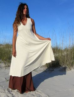 Gaia Conceptions - Ritual Wanderer Below Knee Dress, $155.00 (http://www.gaiaconceptions.com/ritual-wanderer-below-knee-dress/)