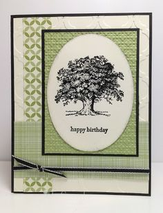 Stamp With Sandy: Lovely as a Tree for DD57
